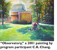 'Observatory' a 2001 painting by program participant CK Chang