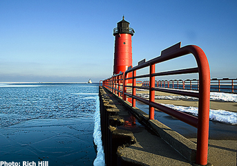 Kimberly Point Lighthouse in Neenah.