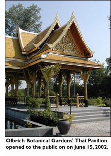 Entrance to the Thai Pavilion