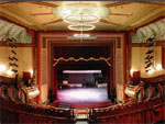 Oshkosh Grand Opera House view of the stage