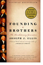 The cover of Founding Brothers by Joseph J Ellis