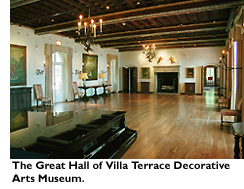 The Great Hall of Villa Terrace