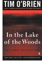 The cover of In the Lake of the Woods by Tim O'Brien